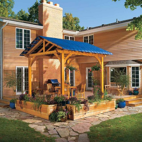 DIY Way to Shade your Deck