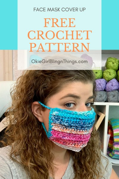 Face Mask Cover Up – Free Crochet Pattern: