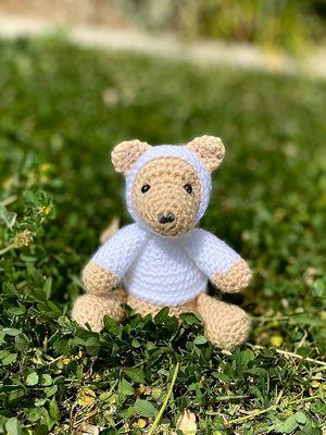Free Crochet Marlo The Teddy Bear Pattern