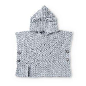 Free Crochet Teddy Bear Poncho Pattern