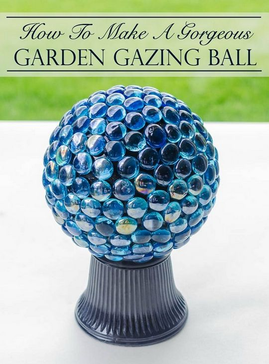 Gorgeous Garden Gazing Ball