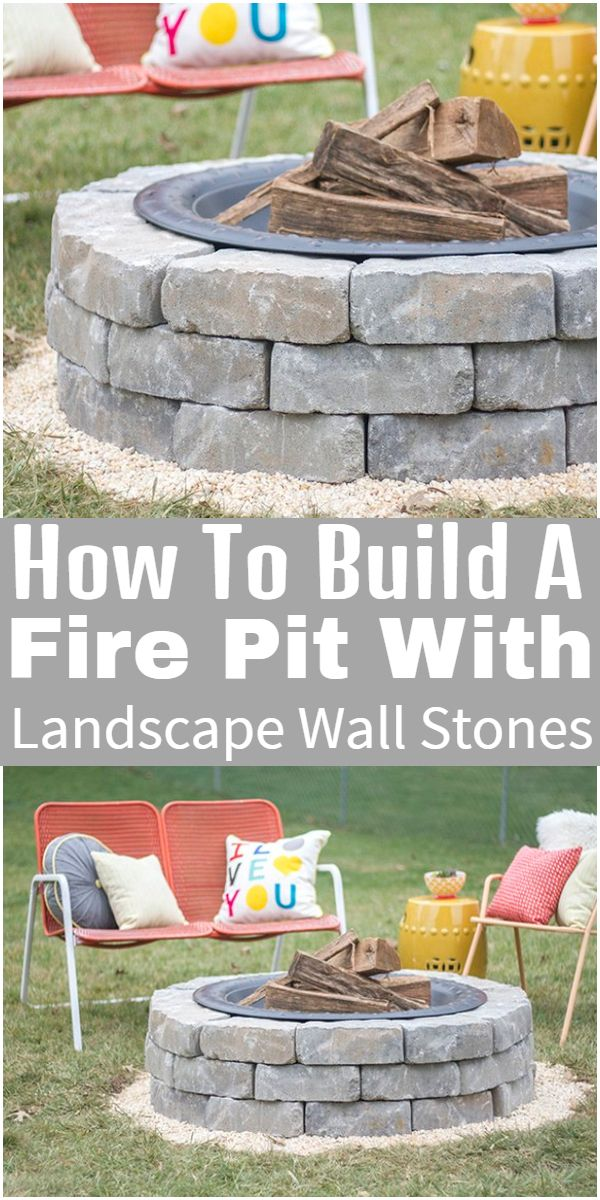 How To Build A  Landscape Wall Stones