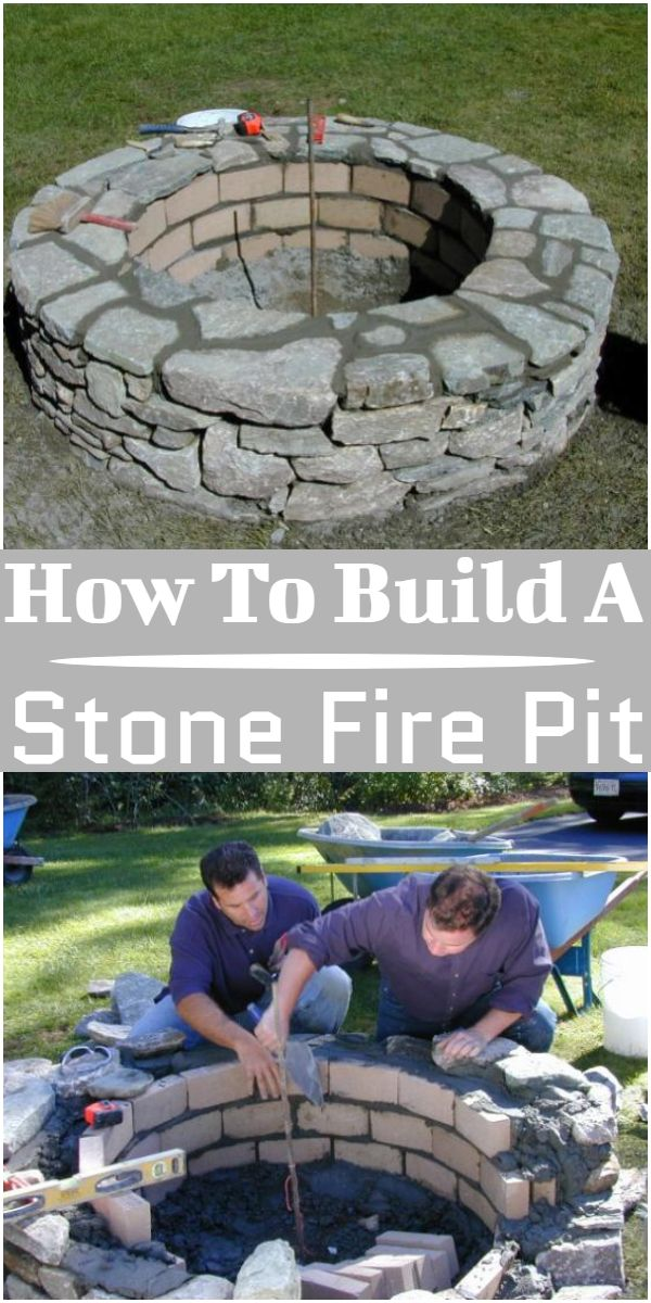 How To Build A Stone  Pit