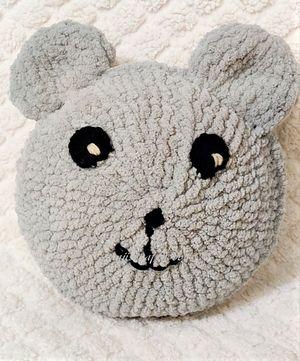 Teddy Bear Pillow Crochet Pattern