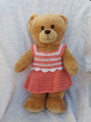 Teddy Bear Top And Skirt Crochet Pattern
