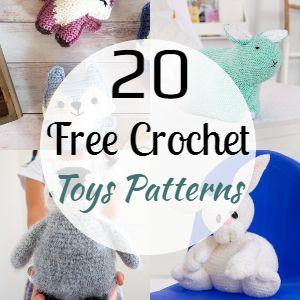 20 Free Crochet Toys Patterns