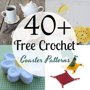40+ Free Crochet Coaster Patterns