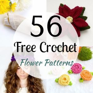 56 Free Crochet Flower Patterns