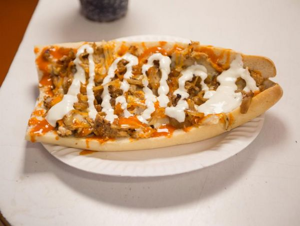 Buffalo Chicken Cheesesteak Sub