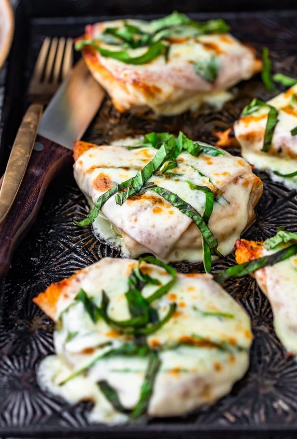 Cheesy Chicken Prosciutto