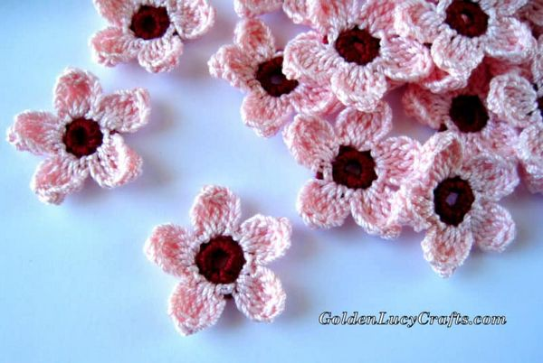 Cherry Blossoms Crochet Pattern