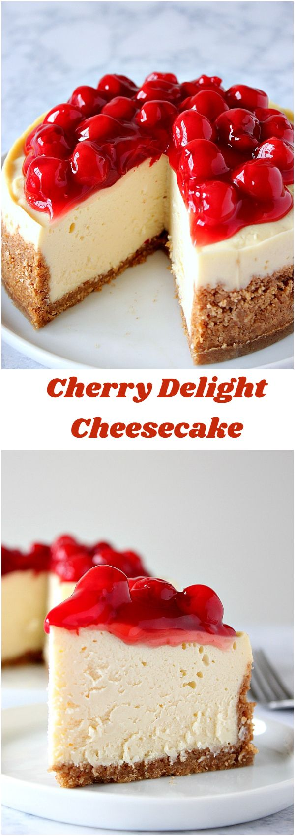Instant Pot Cherry Delight Cheesecake Recipe
