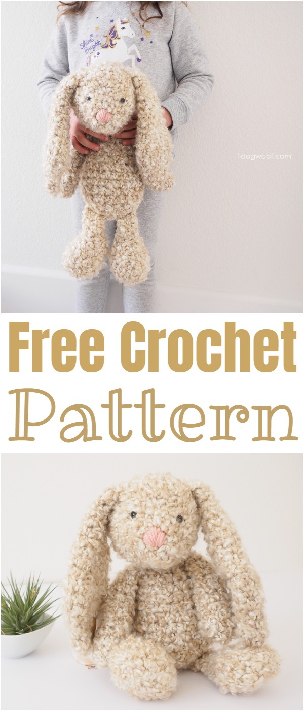 Classic Stuffed Bunny Crochet Pattern