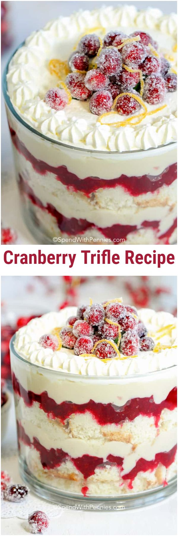 Cranberry Trifle Recipe