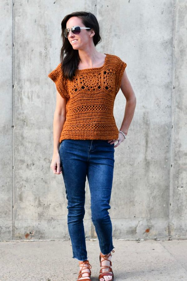 Crochet A Summer Boho Top – Free Pattern