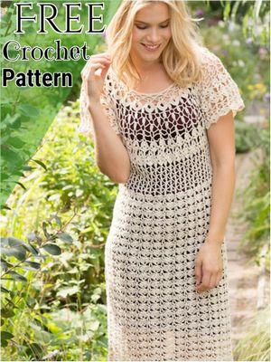 Crochet Dress Patterns-All Free Patterns