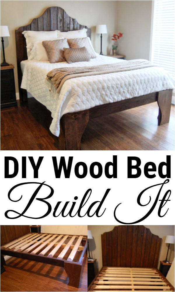 DIY Wood Bed Build It