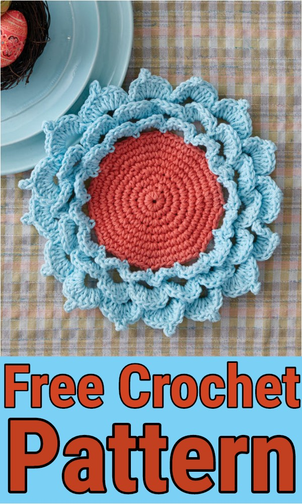 Easy Coaster Crochet Pattern