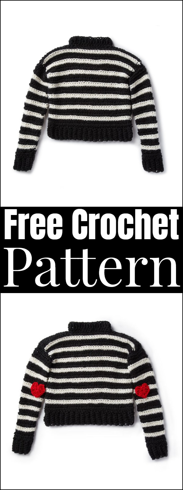 Easy Crochet Women's Sweater Pattern