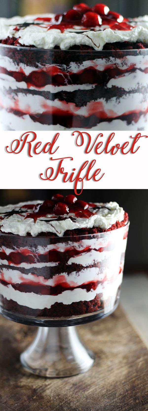 Easy & Delicious Red Velvet Trifle Recipe