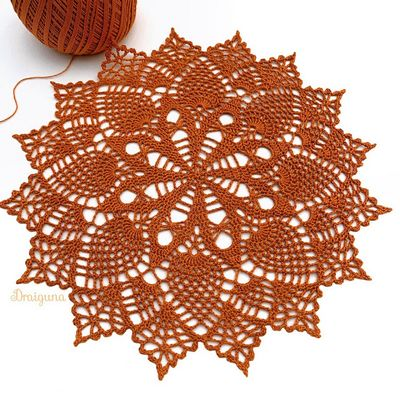 Eversong Doily Crochet Pattern