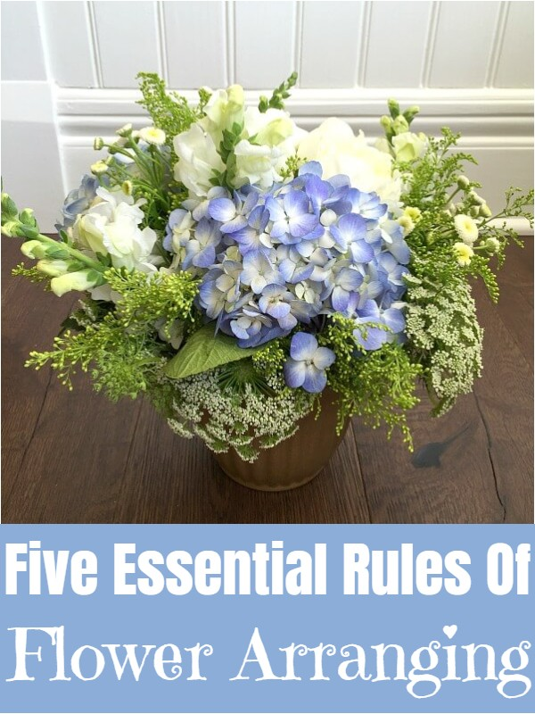 Five Essential Rules Of Flower Arranging