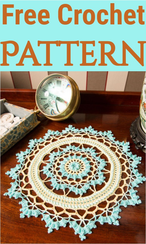 Free Crochet Coventry Doily