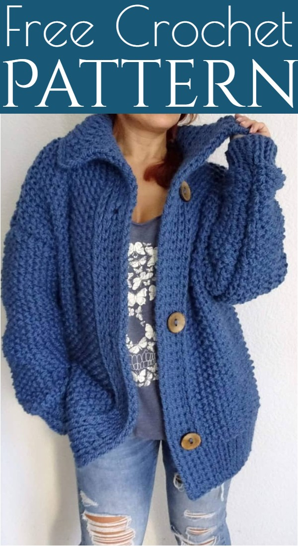 Free Crochet Jackets Pattern