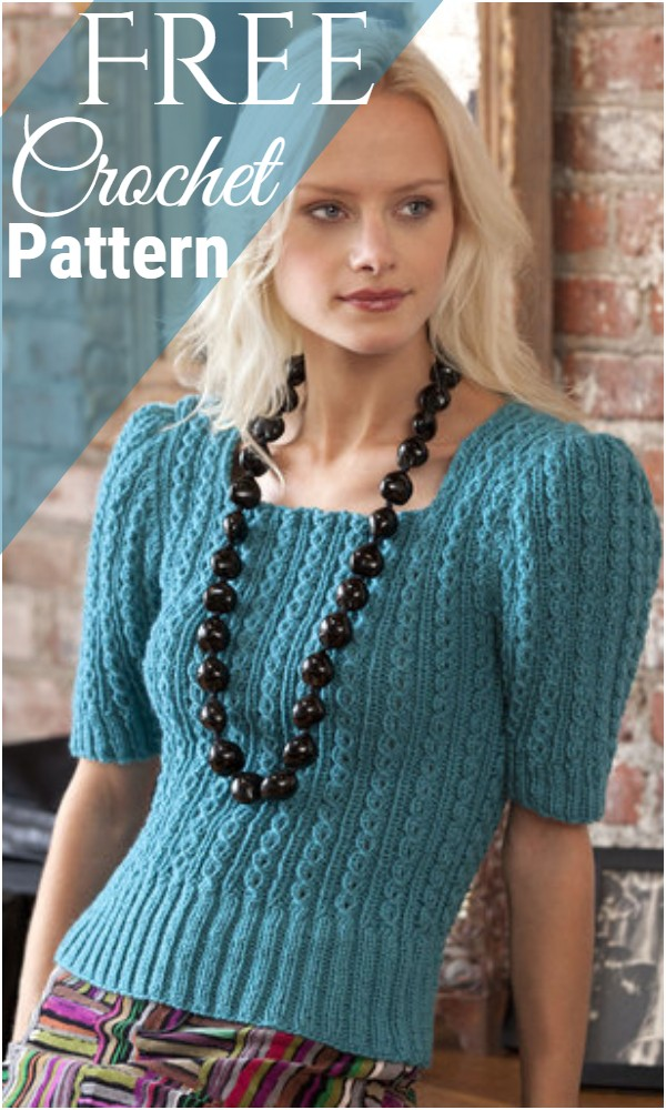 Free Crochet Sweater Girl