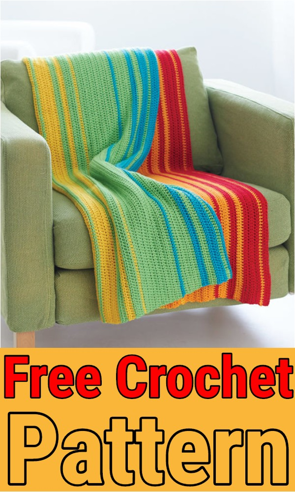 Free Easy Afghan Crochet Pattern