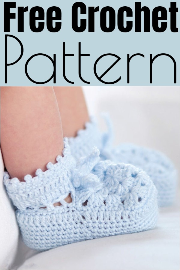 Free Easy Crochet Booties Pattern