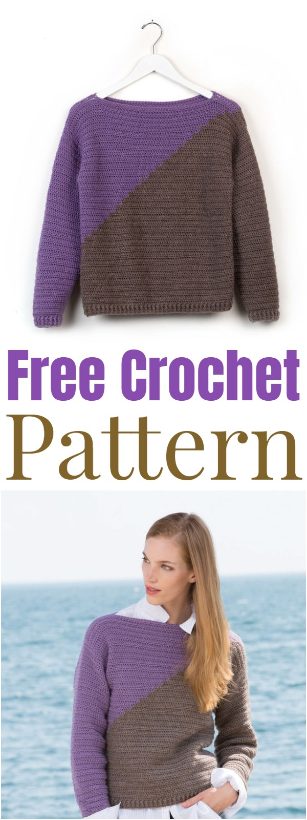 Free Easy Crochet Sweater Pattern