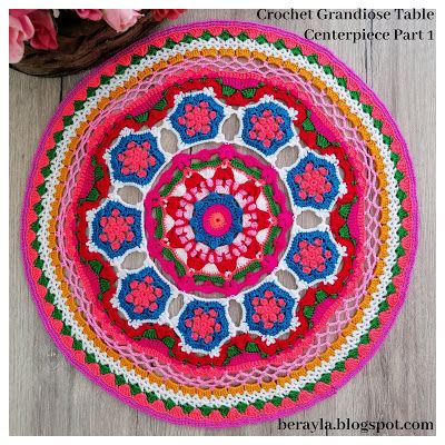 Grandiose Doily Crochet Pattern