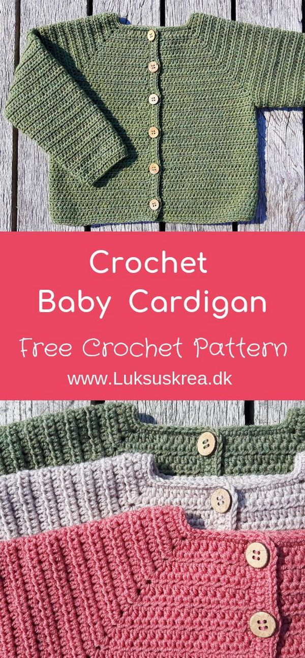 Knitting Patterns Cocoon Free crochet pattern for crochet baby cardigan