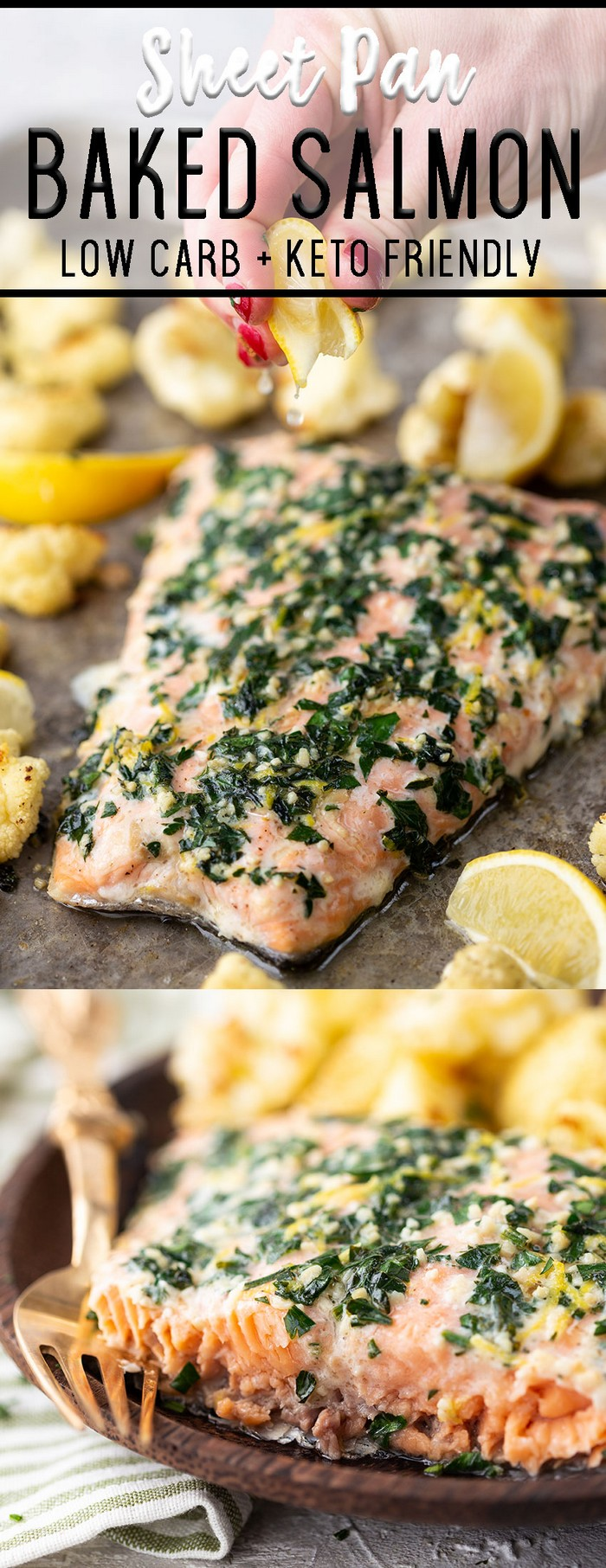 Sheet Pan Baked Salmon