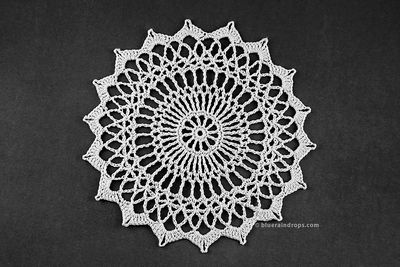 Small Dainty Crochet Doily Pattern