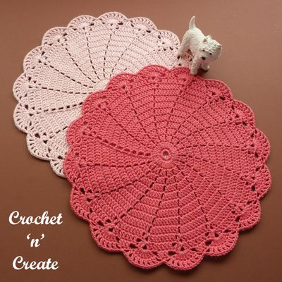 Swirly Doily Crochet Pattern