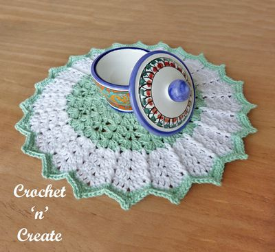 Table Centre Crochet Doily Pattern