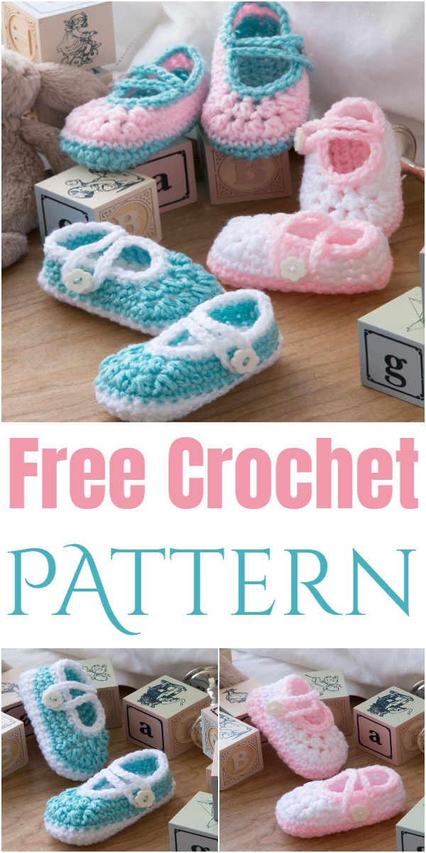 Two Color Baby Booties