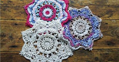 Viola Crochet Doily Pattern