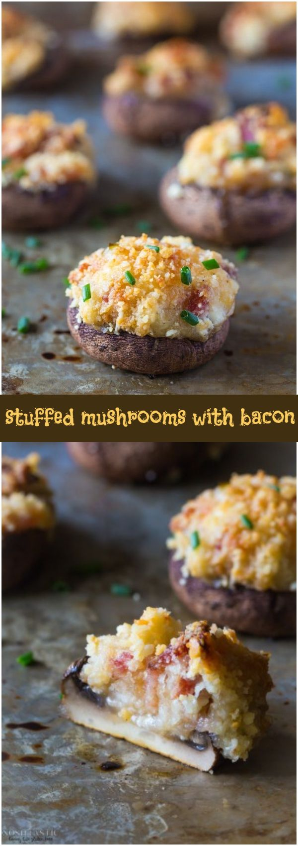 gluten free stuffed mushrooms with bacon