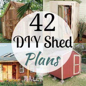 42 DIY Shed Plans