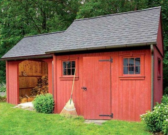 Build A Two-in-one Shed