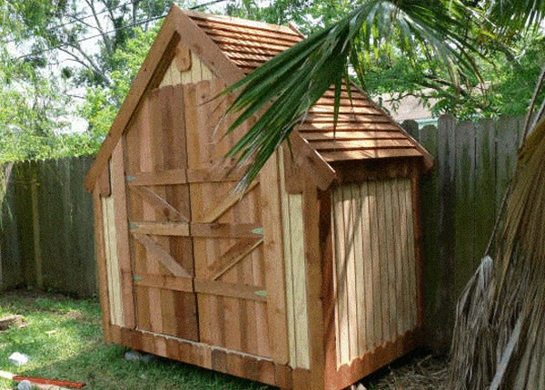 How To Make A Narrow Backyard Shed