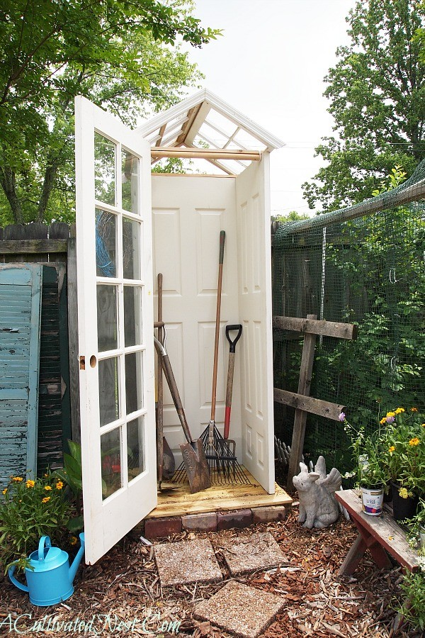 My Cute Little DIY Garden Shed