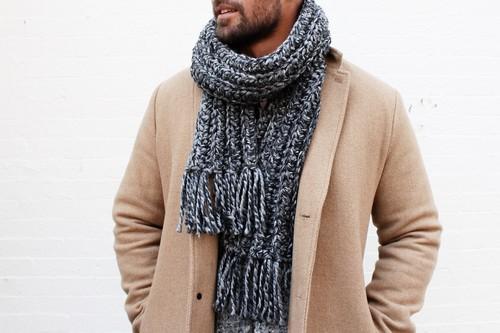 Crochet Hudson Scarf