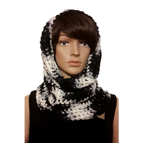 Crochet This Way That A Way Hooded Cowl