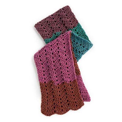 Crochet Waves Scarf