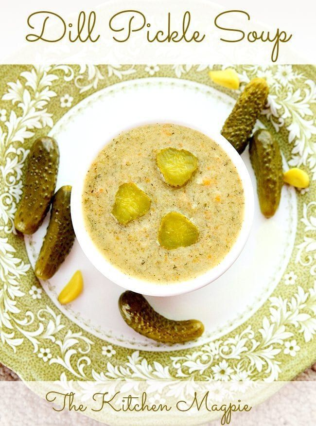 Dill Pickle Soup