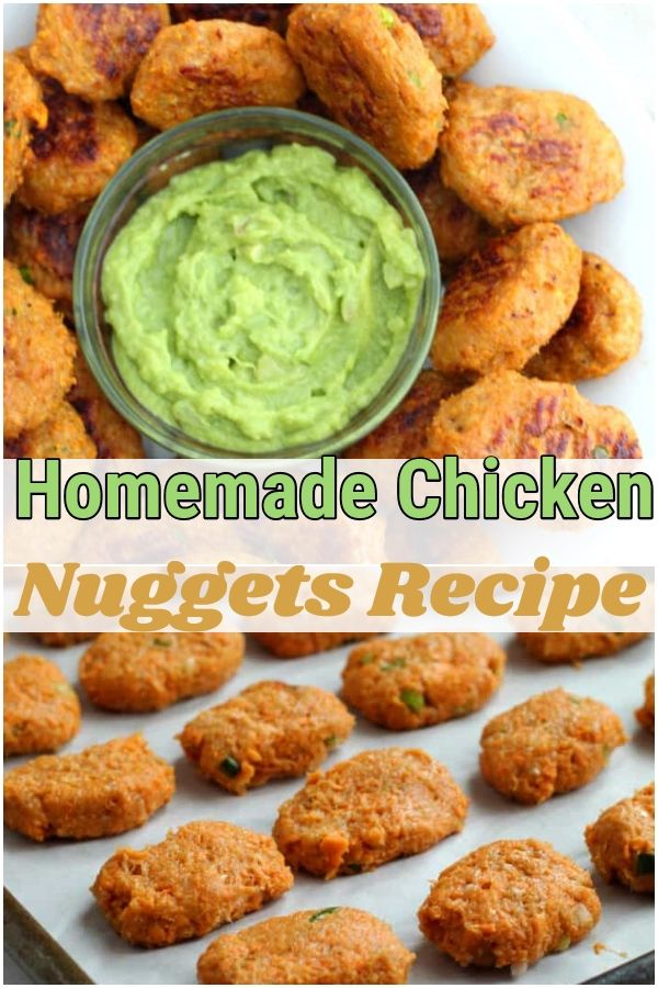 Homemade Chicken Nuggets: